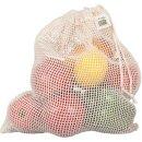 Ecobags Gemüsenetz Medium Bio-Baumwolle