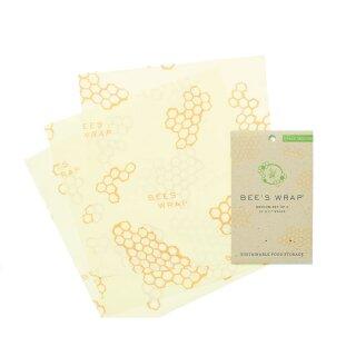 Bees Wrap Bienenwachstücher 3er-Set
