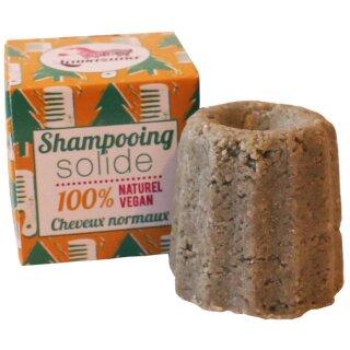 Lamazuna Festes Shampoo Weißtanne für Normales Haar
