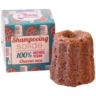 Lamazuna Festes Shampoo Orange für Trockenes Haar