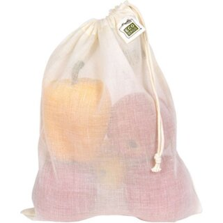 Ecobags Gaze Beutel Baumwolle