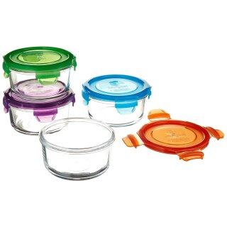 weangreen Lunch Bowl Glasbehälter Garden Pack 4er-Set/370 ml