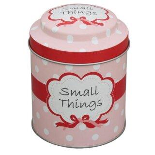 Krasilnikoff Metalldose Rosa Small Things