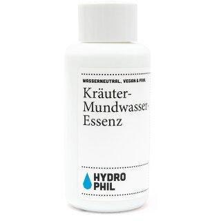 Hydrophil Kräuter-Mundwasser-Essenz 100 ml