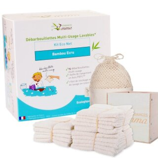 Kit Eco Net Komplettset Küchentücher 17-teilig Bamboo ecru