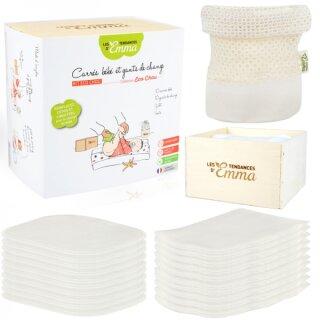 Kit Eco Chou Komplettset Babypflegetücher 22-teilig Bamboo ecru