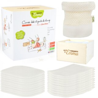 Kit Eco Chou Komplettset Babypflegetücher 22-teilig Bamboo multicolor
