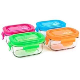 weangreen Wean Tubs Glasbehälter Garden Pack 4er-Set/150 ml