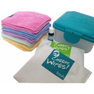 Cheeky Wipes Mini-Kit 28-teilig BAMBOO Rainbow
