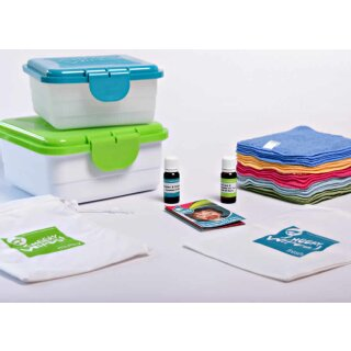 Cheeky Wipes Komplett-Kit 32-teilig BAMBOO Rainbow