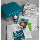 Cheeky Wipes Kit Gesicht & Hände 29-teilig Minky-Whales