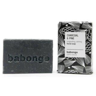 Babongo Gesichtsseife Aktivkohle & Kiefer