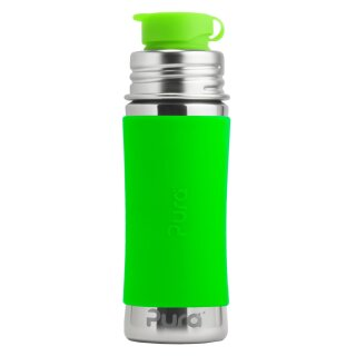 Purakiki SPORTflasche 300 ml mit Silikon-Sleeve
