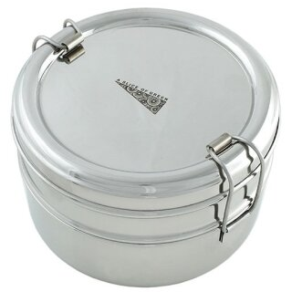 Edelstahl Lunchbox Medium Square 500  ml