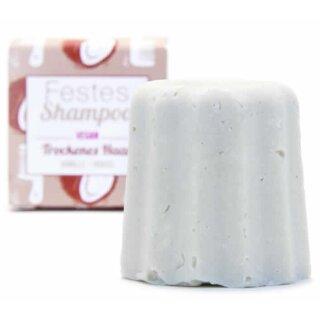 Lamazuna Festes Shampoo Trockenes Haar Vanille & Kokos