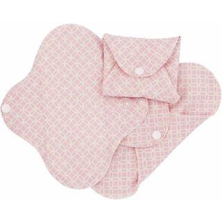 ImseVimse Flügelbinden Bio-BW Panty Liner Pink Halo