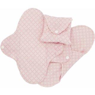 ImseVimse Flügelbinden Bio-BW Regular Pink Halo