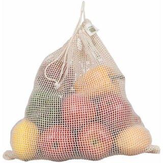 Ecobags Gemüsenetz Large Bio-Baumwolle