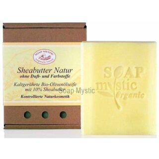 Bio-Olivenölseife Sheabutter Natur 100 g
