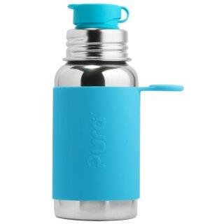 Purakiki SPORTflasche 550 ml mit Silikon-Sleeve