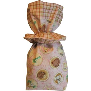 Geschenkbeutel Verpackung aus Stoff Downunder rosa