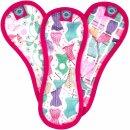 TotsBots Bloom Menstruationsbinde MIDI Pink 3er-Pack
