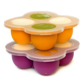 divata FRIERies Gefrierform mit Deckel 2er Set