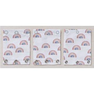 Kopie von Milchmädchen Bodyverlängerung MIX 3er-Set Regenbogen BIO-BW