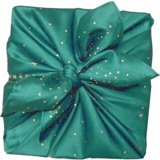 Furoshiki Tuch Cadeau Wunsch nach einem Stern 55x55 cm