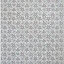 Krasilnikoff Stoffserviette 40x40 cm 3D Hearts grey-white
