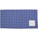 Krasilnikoff Stoffserviette 40x40 cm Circle Dots dark blue